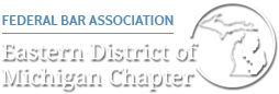 Federal Bar Association Eastern District of Michigan Chapter logo