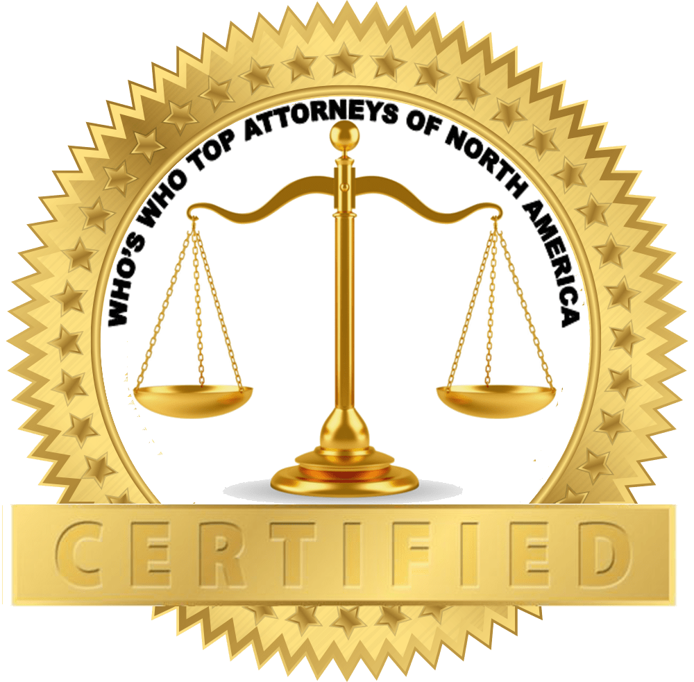Who's Who Top Attorneys of North America Certified